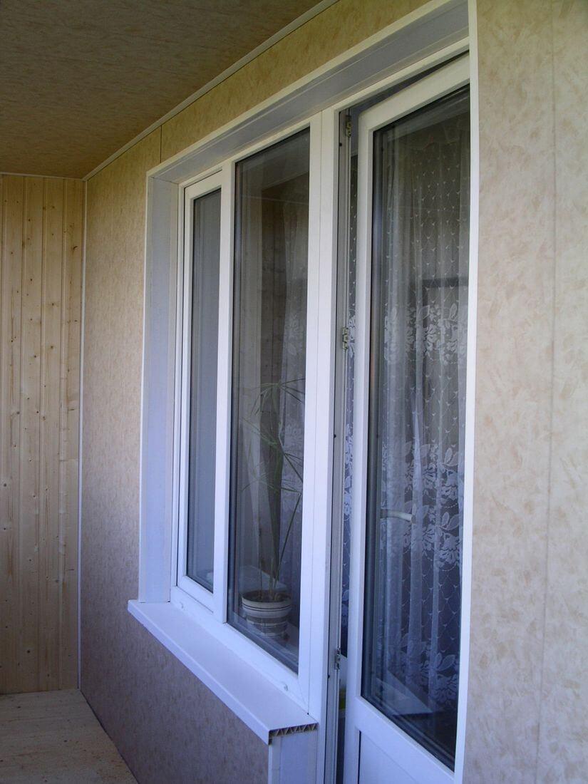 Холодное остекление балкона алюминиевым профилем заказать в .